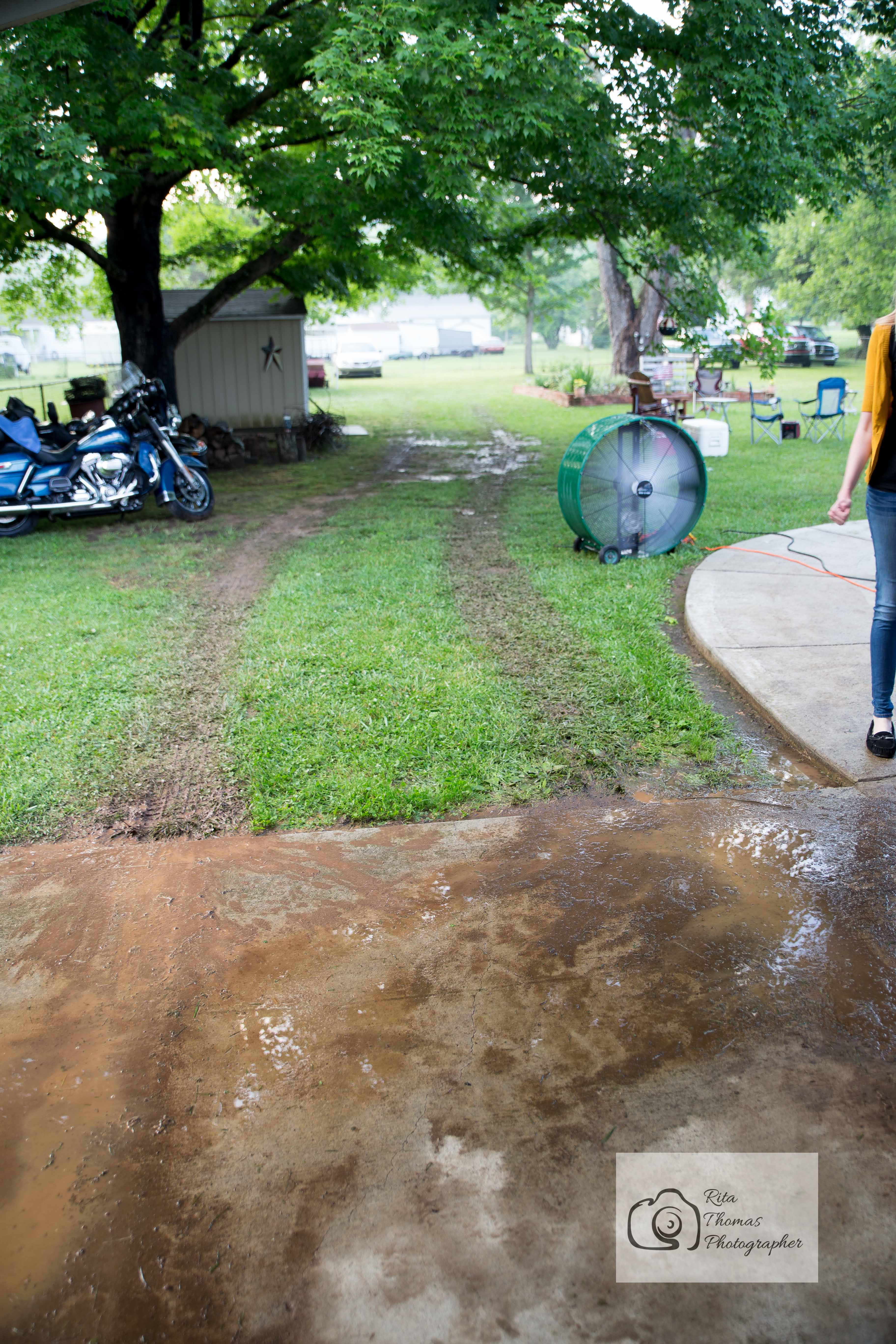 Knoxville Event Photographer Yard Home Rain Delay Raining Picnic Family Travel Motorcycle Community Friends Flags 21